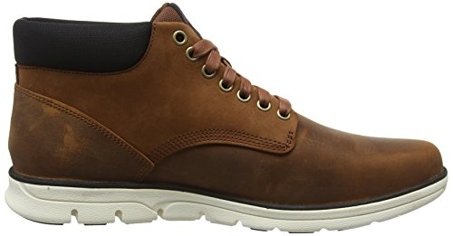 Timberland Bradstreet Leather, Bottes Classiques homme Marron (Red Brown Fg)
