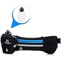Cinturón con cinturón y cinturón de hidratación con una botella de agua  para ejercicio bfc8f8759d9d