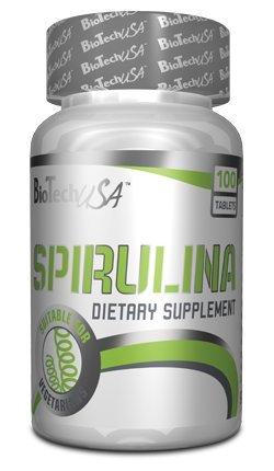 Biotech USA Spirulina Vitaminas y Minerales - 1000 gr
