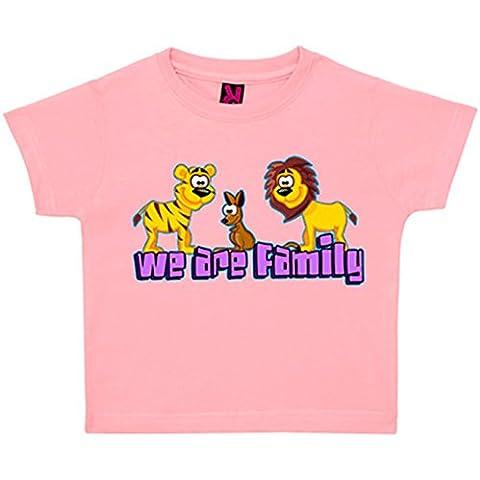 Camiseta niño Animales de la selva We Are Family