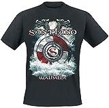 SANTIANO Walhalla T-Shirt schwarz XL
