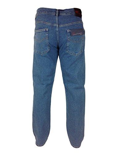 Mens Extra STRETCH JEANS RV Soft Feel W 32-54 Leg 27 29 31 33 Basic Regular Fit