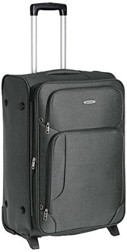 Aristocrat Turbo Polyester 54 cms Grey Suitcase (STTURB54GRY)