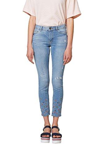 edc by ESPRIT Damen Skinny Jeans 038CC1B031, Blau (Blue Medium Wash 902), 31/32