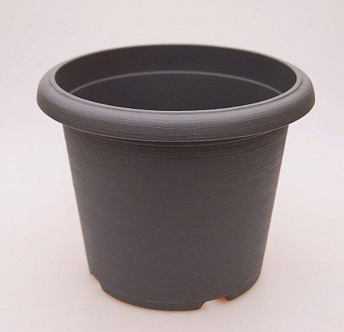 Großtöpfe terrae cilindro taille 45 (gris - 45 cm, extérieur intérieur 40 cm, hauteur 33 cm cm, 10 Stck