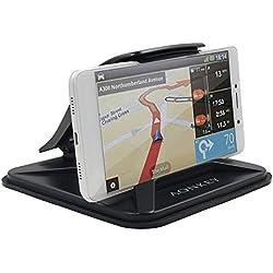 """Support de téléphone Portable Aonkey pour Voiture, Supports de Voiture de Tableau de Bord pour iPhone XS X 8 7 6S Plus berceaux de Support GPS antidérapant pour Galaxy S8 S9 et 3""""-7"""" Smartphone"""