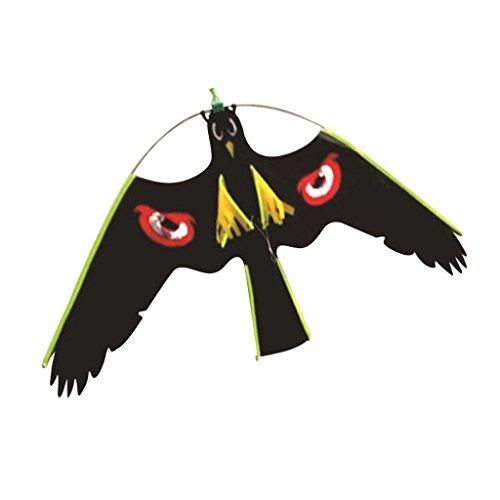 FLAMEER Fliegende Raubvogel Vogelschreck Lebensgroß Falke Figur Vogelscheuche Drachenspiele für Garten - #3