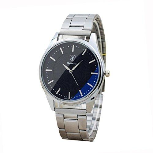 372f65349441 Amlaiworld Reloje Hombres Mujer reloj deportivo niños baratos Reloj de  pulsera analógico deportivo de acero inoxidable