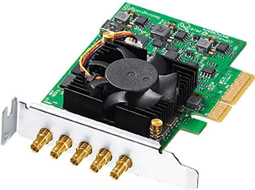 Blackmagic Design DeckLink Duo 2 Mini Multi-Channel PCI Express Capture and Playback Card -