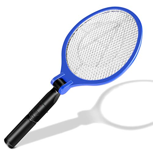 JISUSU 2500 V insecticida eléctrico para Moscas, Mosquito Zap Mejor para Control de plagas en Interiores y Exteriores