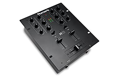 Numark M101 2-Channel All-Purpose DJ Mixer, Rack Mountable with 2-Band EQ
