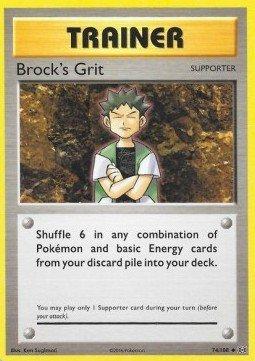 Pokémon - Trainer - Brock's Grit 74/108 - Evolutions