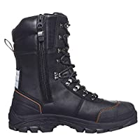 Helly Hansen Colour Winter Safety Boots S3Chelsea Boot HT Insulated Lined Rigger Boot Size,  black , 11 UK