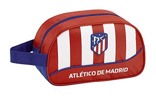 41Blja0r8SL - Atlético de Madrid Neceser, Bolsa de Aseo Adaptable a Carro