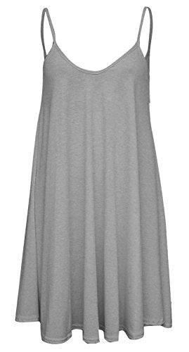 Baliza -  Vestito  - Donna Grigio chiaro