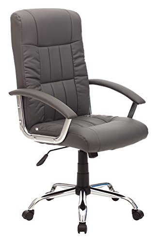 My_office LEADER Poltrona, Poliuretano, Grigio, 63x63x116 cm
