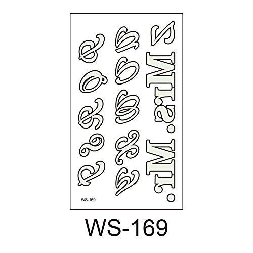 lloween, Leuchtend, Kinder Tattoo Aufkleber, Umweltschutz, wasserdicht, Schweiß, lustige Cartoon Einwegaufkleber 18 10,5x6cm ()