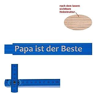 Zollstock/Meterstab Papa ist der Beste