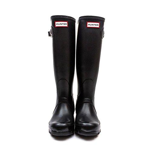 Hunters Original Tall Classic W23499, Unisex-Erwachsene Stiefel Schwarz