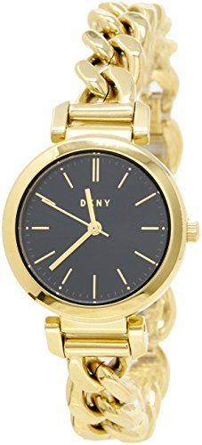 DKNY Women's 'Ellington' Quartz Stainless Steel Casual Watch, Color Gold-Toned (Model: NY2665)