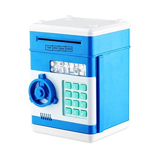 TOYMYTOY Kinder Spardosen Mini ATM Tresor Kinder Spielzeug Geschenk mit Zahlenschloss (Atm-geld-box)