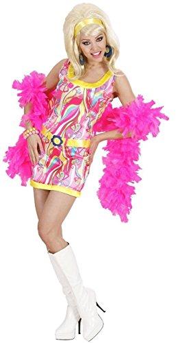 Widmann 74002 - Kostüm für Damen, Größe M, 70er Jahre