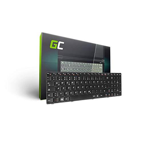 Green Cell Laptop Tastatur für Lenovo IdeaPad G580 G585 Z580 Z585 P580 P585 (Tastenbelegung: DE QWERTZ | Farbe : Schwarz)