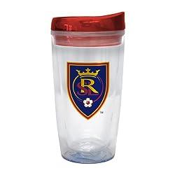 MLS Real Salt Lake 16-Ounce Tritan Slider Top Tumbler