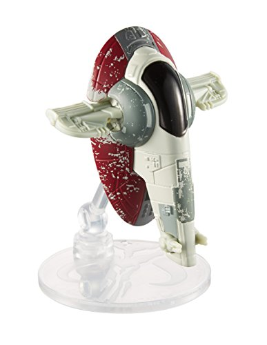 Hot Wheels Star Wars Starship Boba Fett Slave 1 Vehicle by Hot Wheels