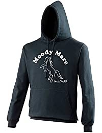 Moody Mare Hoodie - Ideal Gift for Horse Riders
