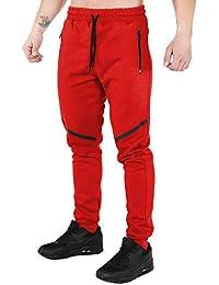 SMILODOX Slim Fit Herren Jogginghose  Tech Pro    Trainingshose für Sport  Fitness Gym   Freizeit   Sporthose… 290d30e188