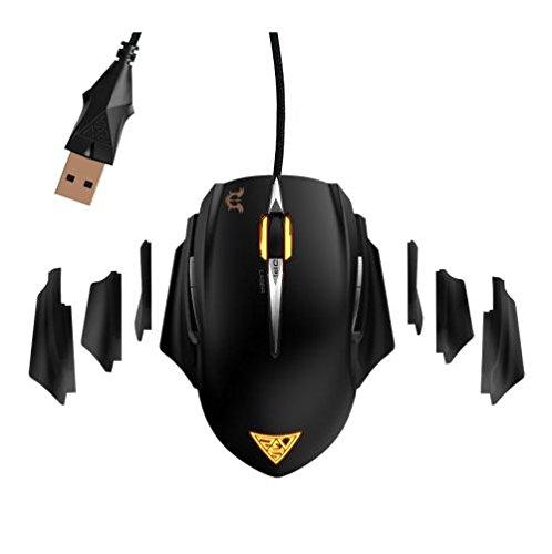 Gamdias Erebos GMS7510 Laser Gaming Mouse (Black)