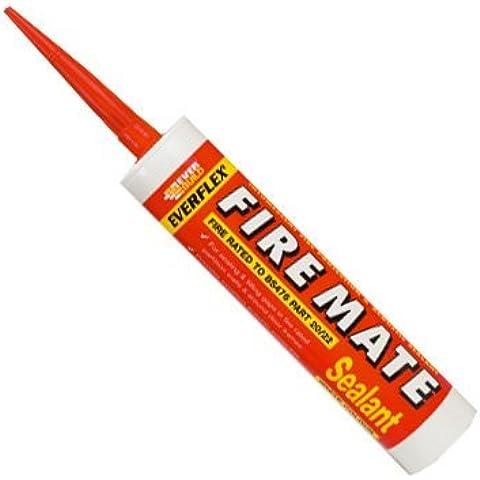 Everbuild fuoco Mate intumescent sigillante acrilico bianco 300ml