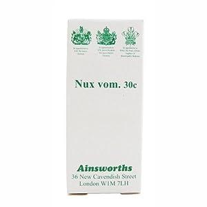 (12 PACK) - Ainsworths - Nux Vomica 30C Homoeopathic | 120's | 12 PACK BUNDLE