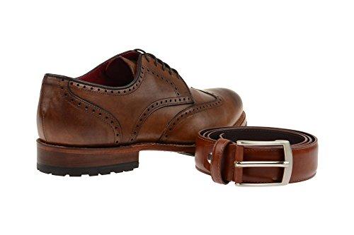 Gordon & Bros  5199a Mid Brown, Chaussures à lacets et coupe classique homme Marron