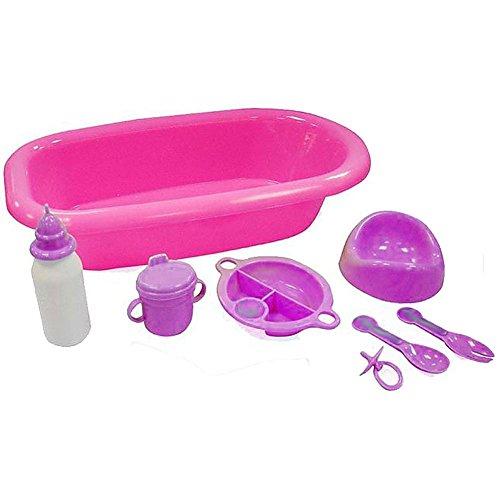 8Pc Bath Set For Baby Doll - Bab...