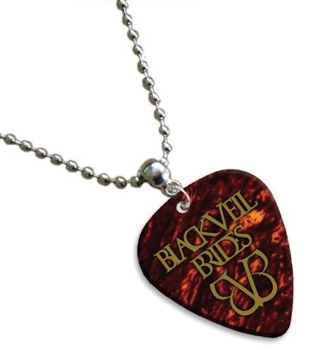Black Veil Brides Hot Foil chitarra pick collana plettro (Tortoise Shell)