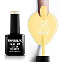 Bluesky Flirteo colección 80624UV LED Gel Soak Off Nail polaco, 10ml, miel Darlin