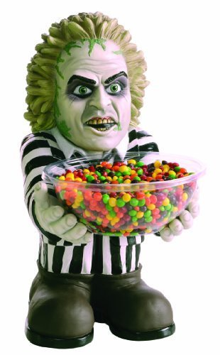Beetlejuice Candy Holder Halloween Decor by (Holder Bowl Candy Halloween)