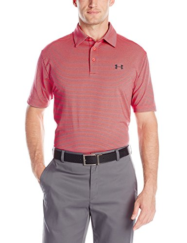 Under Armour Elevated Heather Polo Pour Homme Rayures Taille