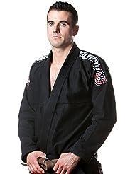 Nova Basic BJJ GI Fightwear Tatami, color negro, tamaño A1
