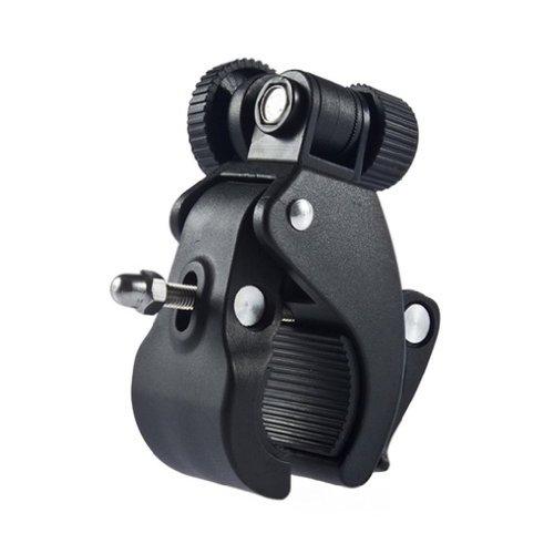 Supporto Fissaggio da Moto Bicicletta per Fotocamera Clip Nero Nuovo