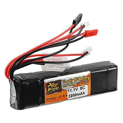 Preisvergleich Produktbild 11, 1V 2200mAh 8C 3S Akku Batterie JST Stecker für RC Auto Flugzeug Hubschrauber Teil, Ewendy Flugzeiten Ihrer Drohne verlängern / Schützt vor Überlastung / Ersatzbatterie Zubehör