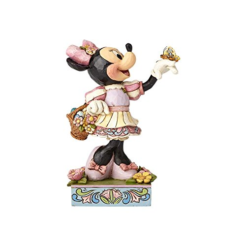 Jim Shore Disney Traditions by enesco 4059743 Ostern Minnie Maus Figur
