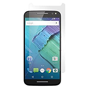 SNOOGG Pack 9 Motorola Moto ZFull Body Tempered Glass Screen Protector [ Full Body Edge to Edge ] [ Anti Scratch ] [ 2.5D Round Edge] [HD View] – White