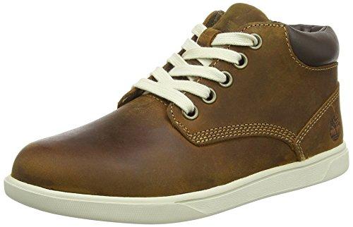 Ginger Brown Schuhe (Timberland Grvtn Ek Ltr Chk Medium, Unisex-Kinder Kurzschaft Stiefel, Braun (Glazed Ginger Roughcut), 31 EU)