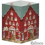 Silke Leffler, Adventkalender-Transparentleuchte Weihnachtshaus