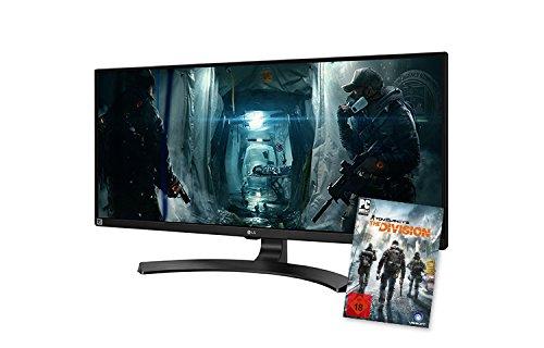 LG 34UM68-P Computer-Monitor mit 86,36 cm (34 Zoll) (HDMI, DisplayPort, Ultra Wide FHD Auflösung, Ergonomisch verstellbarer Neigefuß, Fuß abnehmbar) Schwarz