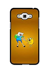 Caseque Finn And Jack Adventure Back Shell Case Cover For Samsung Galaxy Grand 3