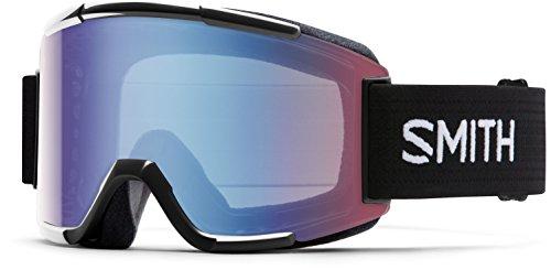 Smith Erwachsene Schneebrille Squad Black/Blue Sensor Mirror